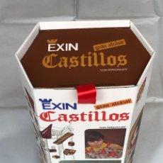 Juguetes antiguos Exin: CAJA EXIN CASTILLOS DE LA SERIE BLANCA GRAN ALCAZAR XII. REPRODUCCIÓN.. Lote 153581525