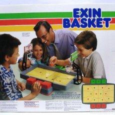 Giocattoli antichi Exin: EXIN BASKET AÑOS 80.CAJA EN PERFECTO ESTADO Y SIN ABRIR CON SU CAJA ORIGINAL DE ENVÍO.¡¡NUEVO!!. Lote 154194666