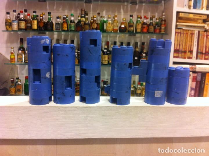 Juguetes antiguos Exin: EXIN CASTILLOS EN COLOR AZUL. MÁS DE 600 PIEZAS - Foto 2 - 154697682