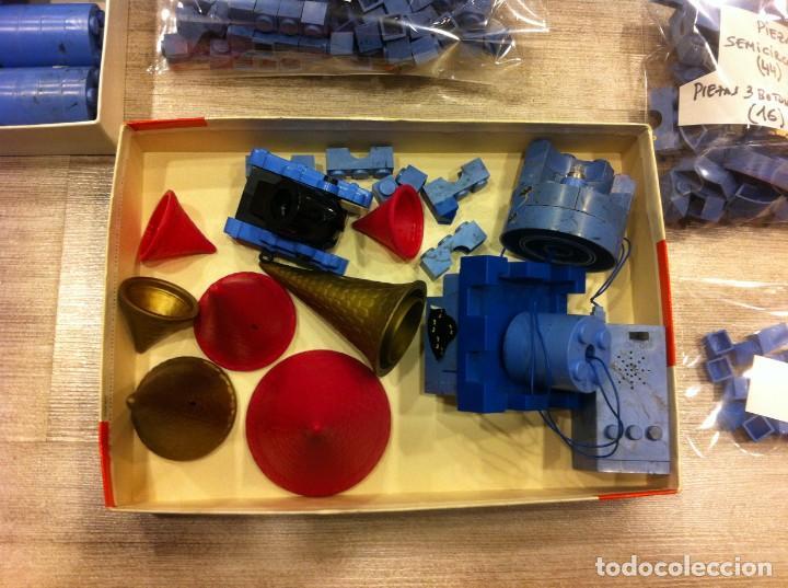 Juguetes antiguos Exin: EXIN CASTILLOS EN COLOR AZUL. MÁS DE 600 PIEZAS - Foto 33 - 154697682