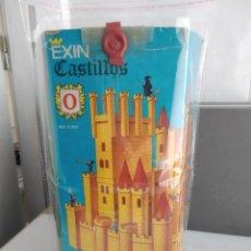 Juguetes antiguos Exin: ANTIGUA CAJA DE EXIN CASTILLOS Nº 0. Lote 155580318