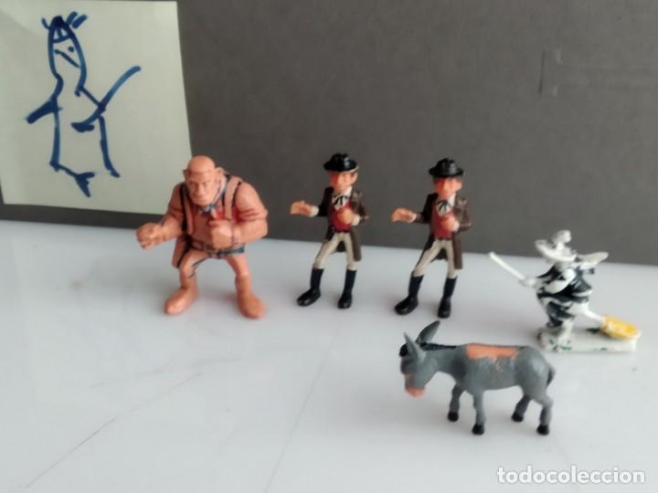 Juguetes antiguos Exin: EXIN WEST LOTE DE FIGURAS - Foto 4 - 155598710