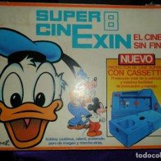 Juguetes antiguos Exin: SUPER CINEXIN 8. COMPLETO CON 3 PELICULAS E INSTRUCCIONES. FUNCIONAMIENTO PERFECTO.. Lote 155866722
