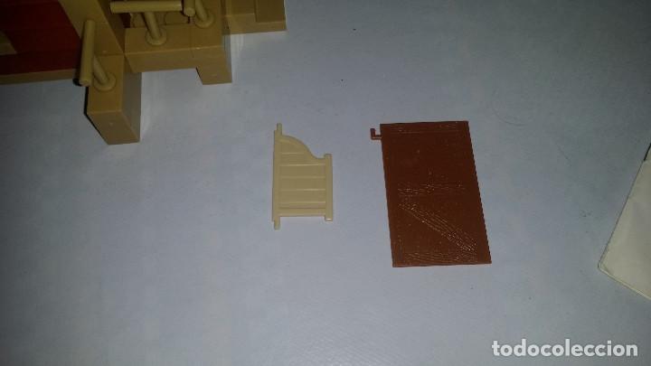 Juguetes antiguos Exin: EXIN WEST -EL PASO COMPLETO EN PIEZAS Y FIGURAS CON MANUAL.(con caja) - Foto 12 - 156555902