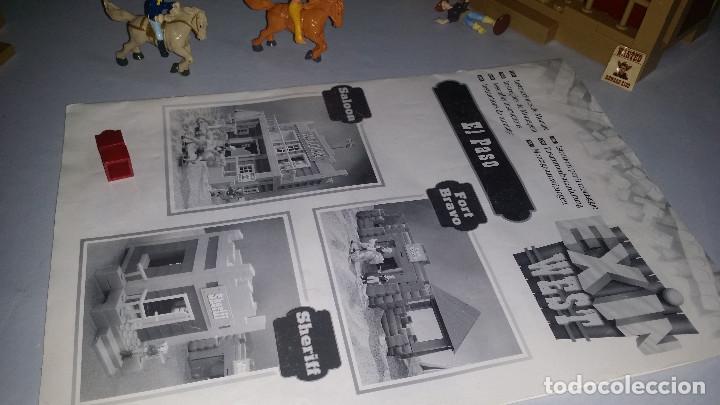 Juguetes antiguos Exin: EXIN WEST -EL PASO COMPLETO EN PIEZAS Y FIGURAS CON MANUAL.(con caja) - Foto 15 - 156555902