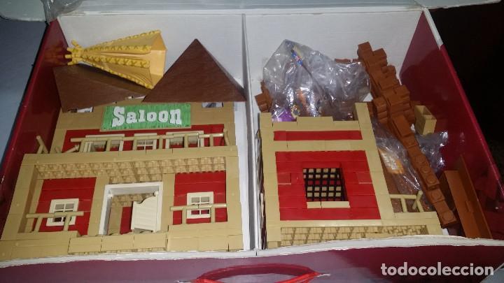 Juguetes antiguos Exin: EXIN WEST -EL PASO COMPLETO EN PIEZAS Y FIGURAS CON MANUAL.(con caja) - Foto 16 - 156555902