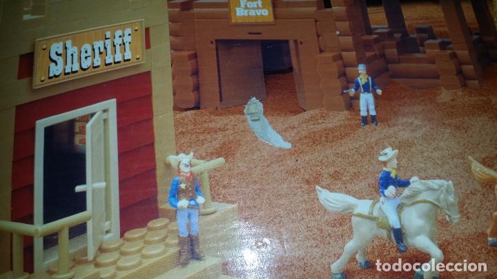 Juguetes antiguos Exin: EXIN WEST -EL PASO COMPLETO EN PIEZAS Y FIGURAS CON MANUAL.(con caja) - Foto 17 - 156555902