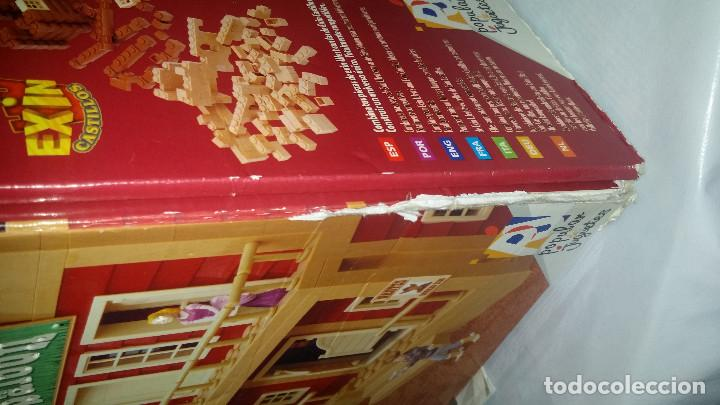 Juguetes antiguos Exin: EXIN WEST -EL PASO COMPLETO EN PIEZAS Y FIGURAS CON MANUAL.(con caja) - Foto 18 - 156555902