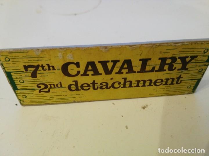 EXIN WEST - CARTEL - LETRERO - CALAVARY (Juguetes - Marcas Clásicas - Exin)