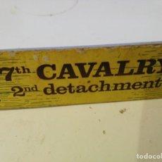 Juguetes antiguos Exin: EXIN WEST - CARTEL - LETRERO - CALAVARY. Lote 157303382