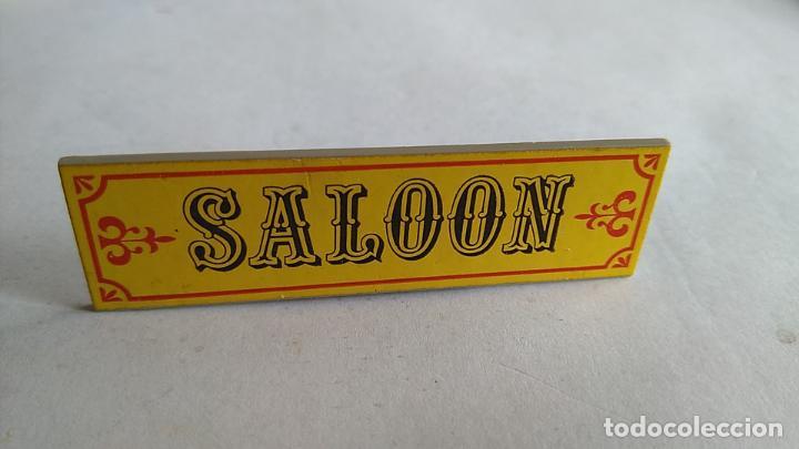 EXIN FAR WEST CARTEL SALOON (Juguetes - Marcas Clásicas - Exin)