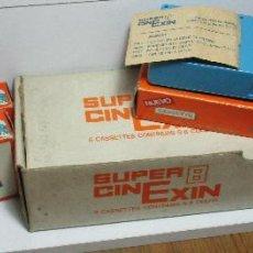 Juguetes antiguos Exin: LOTE 4 PELÍCULAS SUPER CINEXIN CINE EXIN WALT DISNEY, PITUFOS, MICKEY EXCURSIÓN EN ROULOTTE, GOOFY... Lote 160182254