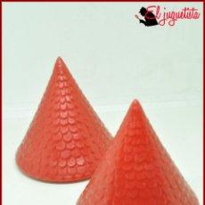 Juguetes antiguos Exin: PPIS 36 - EXIN CASTILLOS - TEJADO 7,5 CM X2. Lote 160564618