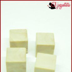 Jouets anciens Exin: PPIS 48 - EXIN CASTILLOS - LADRILLO BLOQUE LISO CUBO 1X1 X4. Lote 160568170