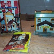 Juguetes antiguos Exin: EXIN WEST BANK, CON CAJA + INSTRUCCIONES.. Lote 160679290