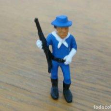 Juguetes antiguos Exin: SOLDADO CON RIFLE ORIGINAL DE EXIN WEST. Lote 160690846