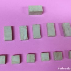 Juguetes antiguos Exin: PLACAS LISAS EXIN CASTILLOS AÑOS 70. Lote 160738944
