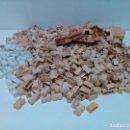 Juguetes antiguos Exin: LOTE DE 1,9 KG DE PIEZAS DE EXIN CASTILLOS. Lote 160922342