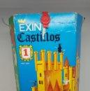 Juguetes antiguos Exin: EXIN CASTILLOS AZUL NUMERO 1 CON CAJA ORIGINAL E INSTRUCCIONES. Lote 160959001