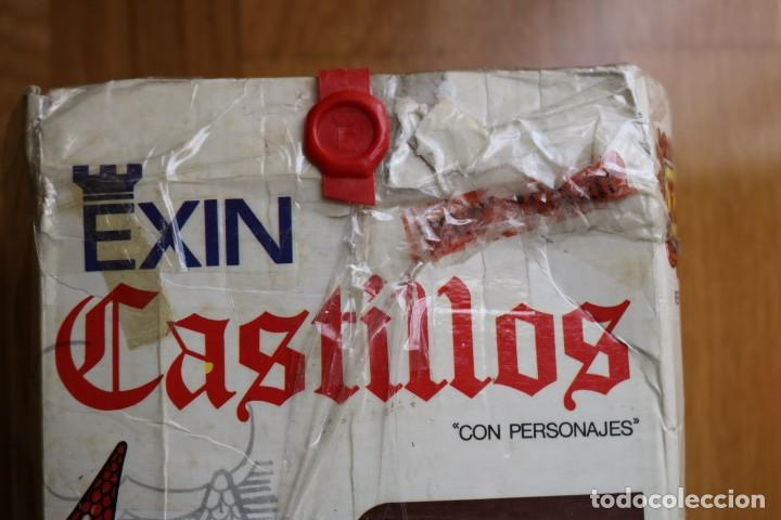 Juguetes antiguos Exin: EXIN CASTILLOS GRAN ALCAZAR XII SERIE BLANCA EN CAJA - Foto 5 - 160966874