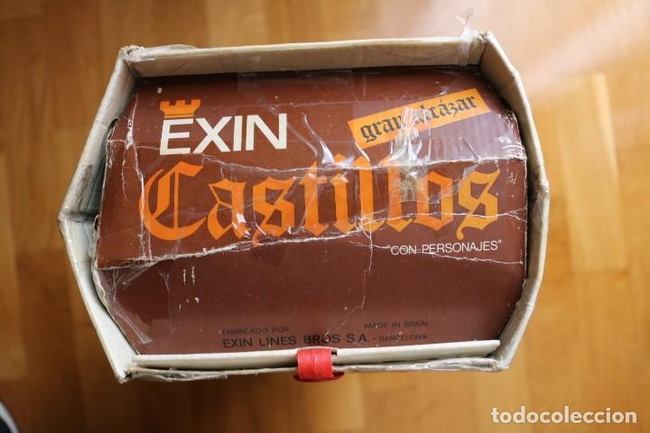 Juguetes antiguos Exin: EXIN CASTILLOS GRAN ALCAZAR XII SERIE BLANCA EN CAJA - Foto 6 - 160966874