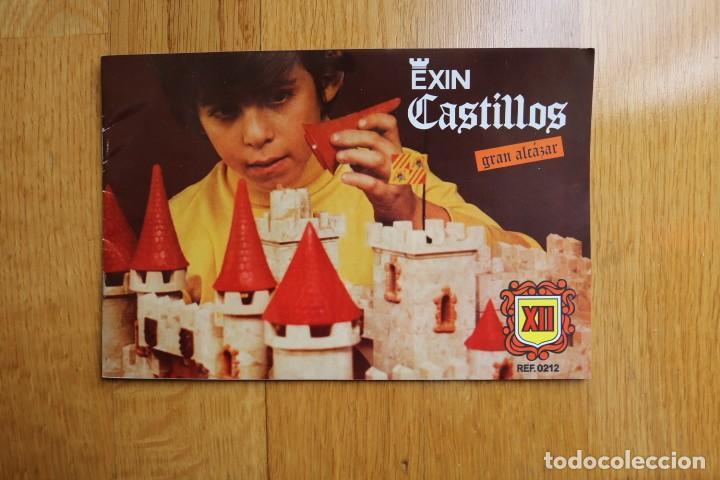 Juguetes antiguos Exin: EXIN CASTILLOS GRAN ALCAZAR XII SERIE BLANCA EN CAJA - Foto 13 - 160966874