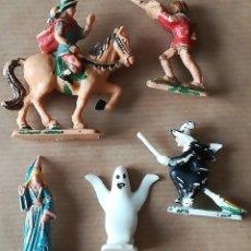 Juguetes antiguos Exin: LOTE FIGURAS EXIN CASTILLOS. Lote 164874954