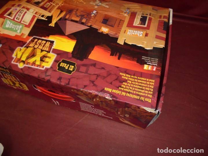 Juguetes antiguos Exin: magnifica caja de exin west el paso - Foto 3 - 165349918
