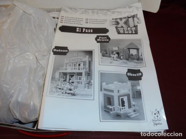 Juguetes antiguos Exin: magnifica caja de exin west el paso - Foto 4 - 165349918