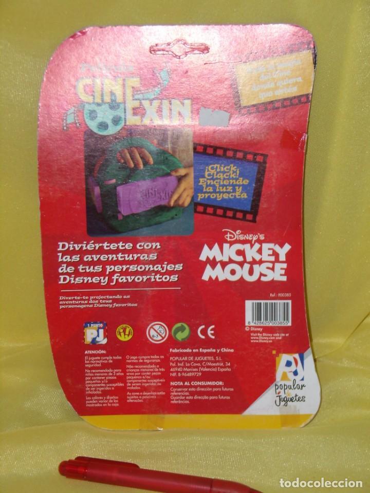 Juguetes antiguos Exin: Cine Exin película, Mickey, intercambio de personalidad de Popular de Juguetes, Nuevo sin abrir. - Foto 2 - 166754266