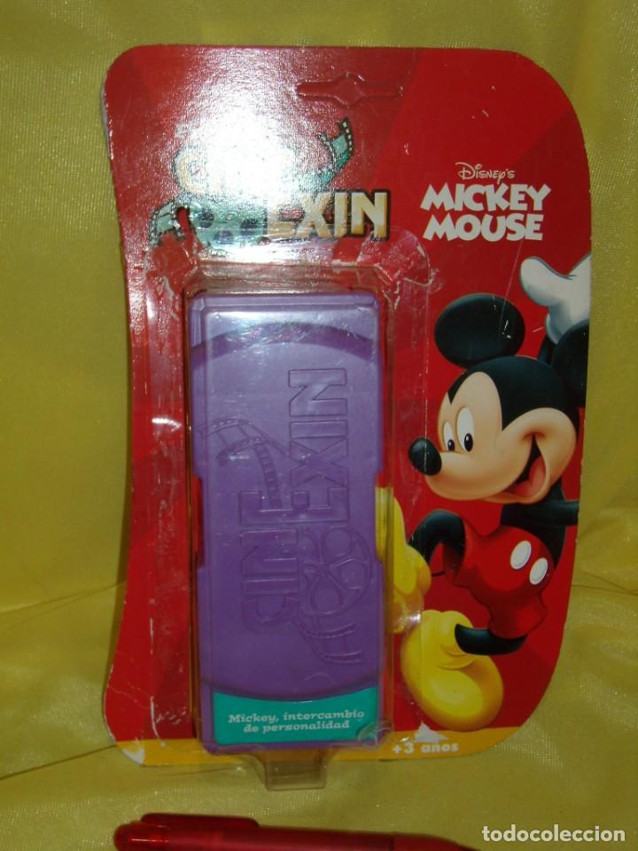 Juguetes antiguos Exin: Cine Exin película, Mickey, intercambio de personalidad de Popular de Juguetes, Nuevo sin abrir. - Foto 4 - 166754266