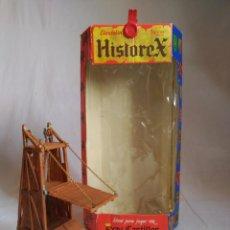 Juguetes antiguos Exin: TORRE DE ASALTO. ELASTOLIN. HISTOREX. EXIN. ROMANJUGUETESYMAS.. Lote 168358952
