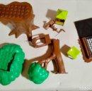 Juguetes antiguos Exin: 7 PIEZAS EXIT CASTLLO ROBIN HOUDD. Lote 168449008