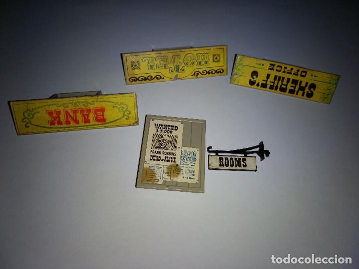 Juguetes antiguos Exin: EXIN WEST ANTIGUO ORIGINAL LOTE DE 5 CARTELES - Foto 3 - 169464860