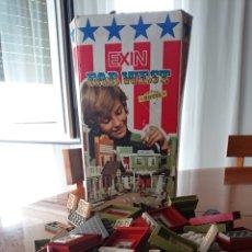 Juguetes antiguos Exin: EXIN FAR WEST, ORIGINAL, CAJA HOTEL, VED FOTOS. Lote 172368448