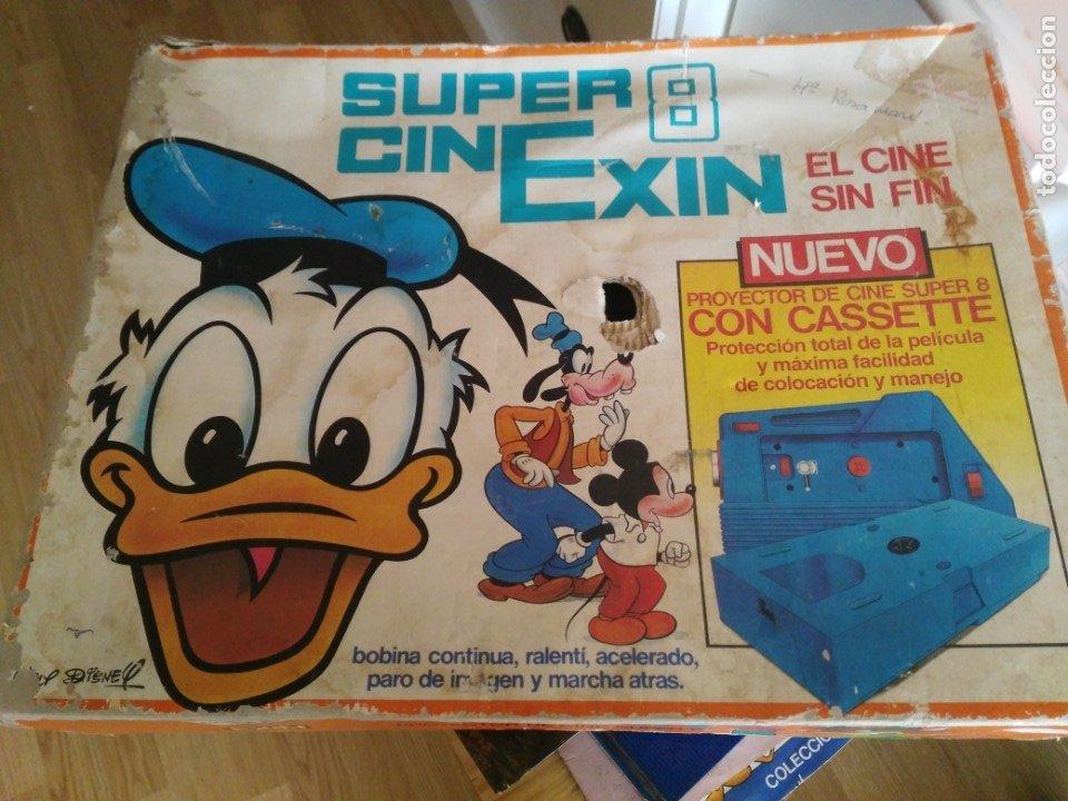 CINEXIN - SUPER 8 (Juguetes - Marcas Clásicas - Exin)