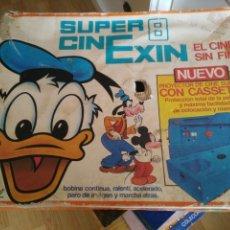 Juguetes antiguos Exin: CINEXIN - SUPER 8. Lote 173020913