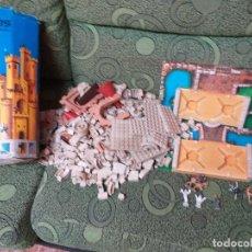 Juguetes antiguos Exin: EXIN CASTILLOS, CASTILLO N 2 AÑOS 60 CAJA BASES ETC. Lote 173601224