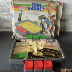 Juguetes antiguos Exin: EXIN BASKET A FALTA DE PELOTA Y CANASTA RAJADA+CAJA DAÑADA. Lote 175044400