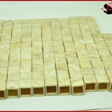 Juguetes antiguos Exin: ORTYUK - EXIN CASTILLOS - LADRILLO BLOQUE 1X1 X140. Lote 175309235