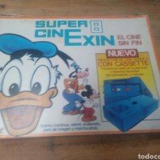 Juguetes antiguos Exin: SUPER 8 CINE EXIN. ( SOLO LA CAJA).. Lote 175335445