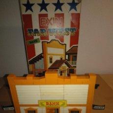 Juguetes antiguos Exin: EXIN WEST. MODELO BANK EN CAJA.. Lote 172345499