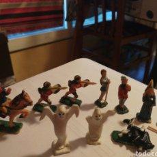 Juguetes antiguos Exin: LOTE FIGURAS EXIN WEST BUEN ESTADO. Lote 177737597