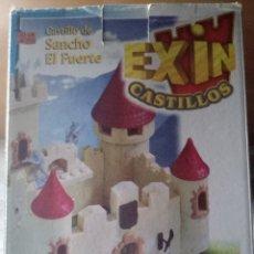 Juguetes antiguos Exin: EXIN CASTILLO DE SANCHO EL FUERTE, CASI COMPLETO. Lote 178940616