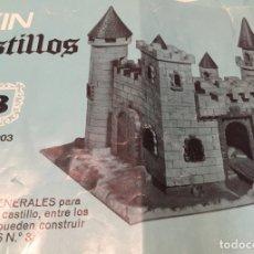 Juguetes antiguos Exin: EXIN CASTILLOS NÚMERO 3 CAJA AZUL. Lote 179061925