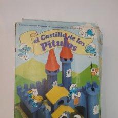 Juguetes antiguos Exin: EL CASTILLO DE LOS PITUFOS - EXIN CASTILLOS - CASI COMPLETO. Lote 179177708