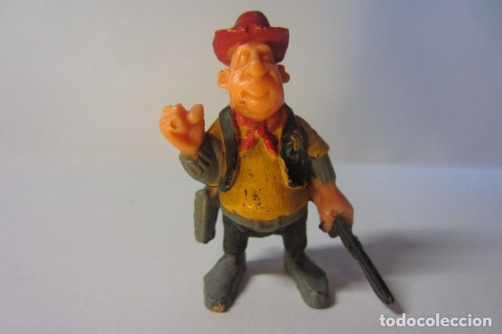 EXIN WEST OESTE FIGURA SHERIFF SOMBRERO ROJO 1 (Juguetes - Marcas Clásicas - Exin)