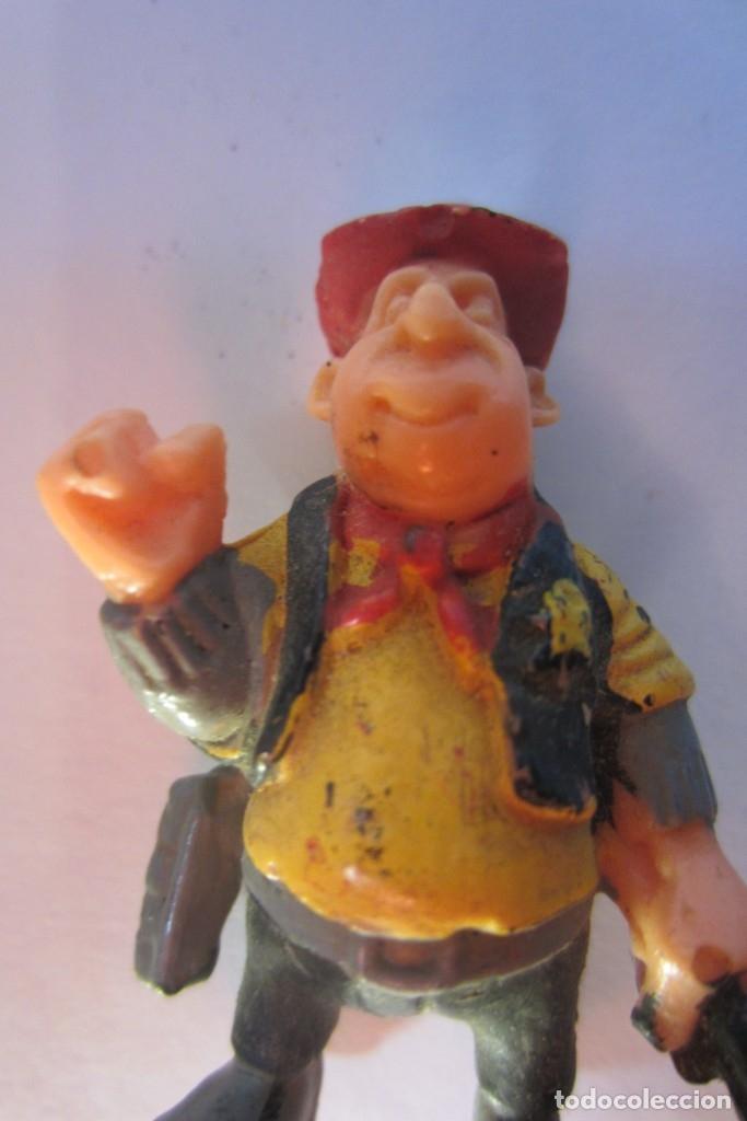 Juguetes antiguos Exin: Exin West Oeste Figura Sheriff Sombrero Rojo 1 - Foto 12 - 179405223