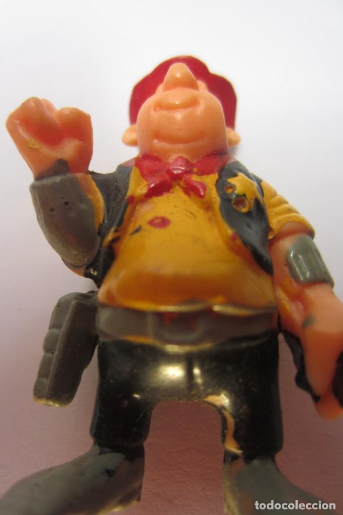 Juguetes antiguos Exin: Exin West Oeste Figura Sheriff Sombrero Rojo 2 - Foto 4 - 179405250