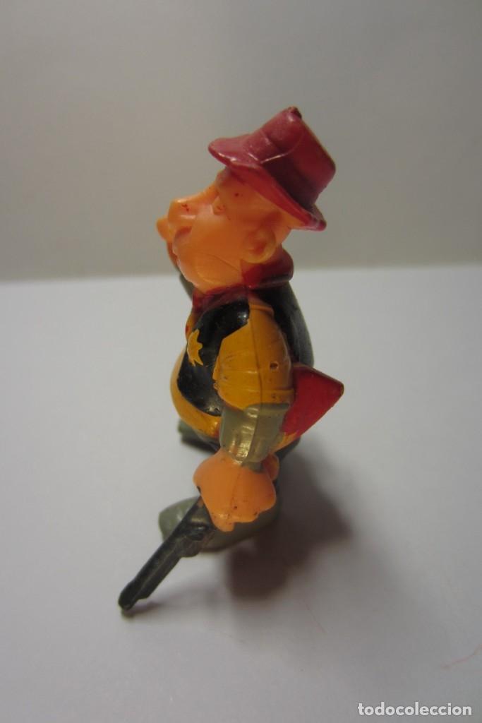 Juguetes antiguos Exin: Exin West Oeste Figura Sheriff Sombrero Rojo 2 - Foto 7 - 179405250
